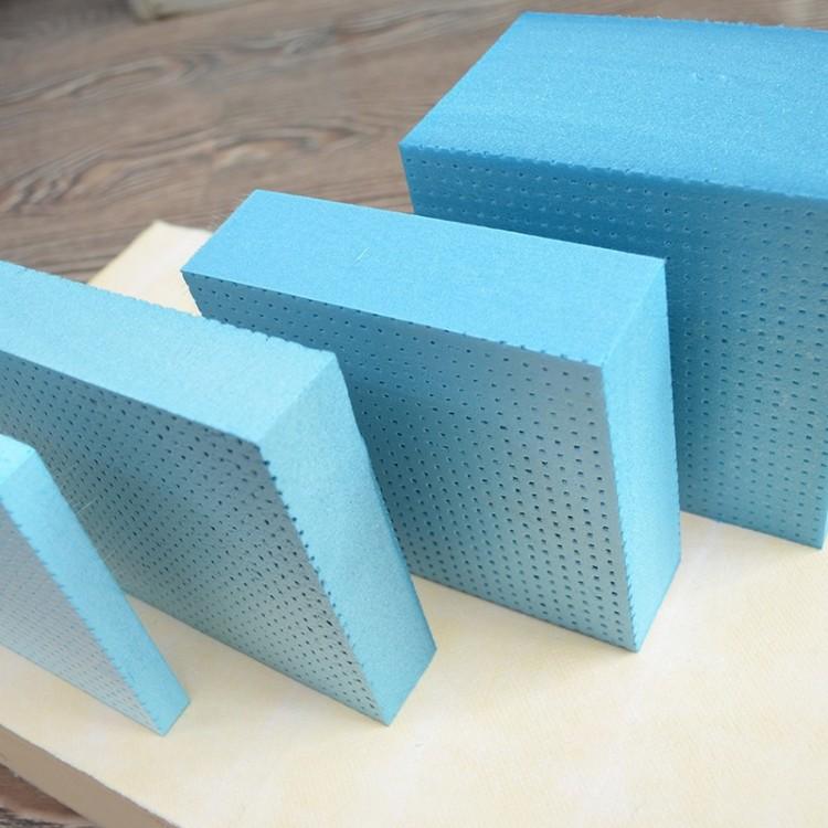 四川外墙xps聚苯挤塑板成都厂家 普通蓝色地暖 屋面隔热保温板 阻燃泡沫板 定制批发