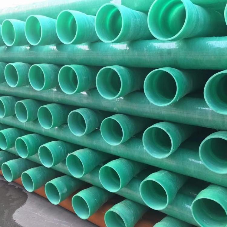 仪陇玻璃钢电力管 110玻璃钢夹砂电力管生产厂家用固地管道