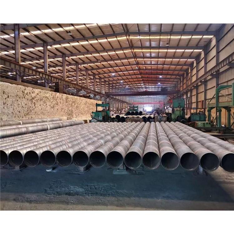 L245螺旋钢管 Q355B定尺螺旋钢管 8710防腐螺旋管 双面埋弧焊螺旋钢管 部标螺旋钢管 螺旋钢管规格重量表