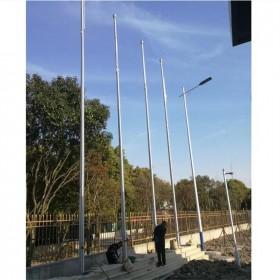 学校广场用电动升降旗杆 304不锈钢材质 6米9米12 支持定制