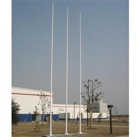 工厂用不锈钢旗杆 支持电动/手摇 定制安装一条龙终身维护