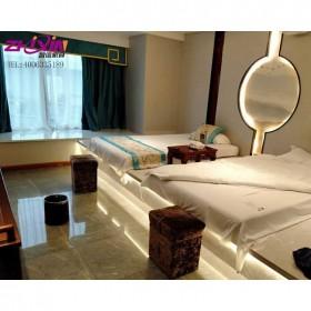 黔东南足浴床卖足疗沙发 洗脚按摩床足疗床带洗脚一体
